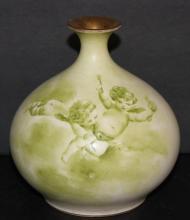 19th C. Royal Bonn Cherub Vase