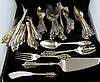 60 Pc. Wallace Grand Baroque Sterling Silver Flatware Set
