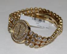 Harry Winston 18Kt YG 20.00ct. Diamond Ladies Watch