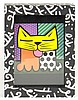 Romero Britto Brazilian-American-Florida (born1965-) Circa 1996 Limited Edition Graffiti Painted