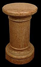 Early 20th Century Marble Pedestal. Unsigned. Chips and Losses Otherwise Good Condition. Measures approx. 30-1/2 Inches Tall and 16 Inches Wide at Base. We will not ship this item due to its size. We will happily recommend a list of outside vendors