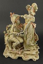Vintage KPM Porcelain Figural Group