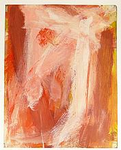Seymour Franks, American (1916-1981) Abstract Gouache on Paper. Signed. Minor Tears to Edges Otherwise Good Condition. Measures 21-1/8 Inches Tall and 16-5/8 Inches Wide. Shipping $48.00