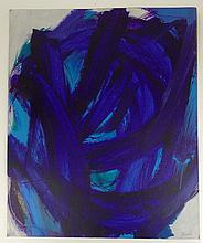 Seymour Franks, American (1916-1981) Abstract Gouache on Paper. Signed. Minor Tears to Edges Otherwise Good Condition. Measures 26-5/8 Inches Tall and 22-1/8 Inches Wide. Shipping $48.00