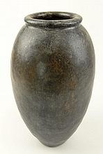Hiroshi Nakayama, Japanese (20th Century) Large Glazed Ceramic Vase. Unsigned. Good Condition. Measures 10-3/4 Inches Tall, 7 Inches Width. Shipping $69.00