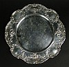 Early 20th Century Gorham Sterling Silver Service Plate or Dinner Plate in the