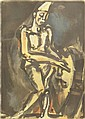 Georges Rouault French (1871-1958) Color Lithograph
