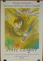 Marc Chagall Russian-French (1887-1985) Color Lithograph Poster