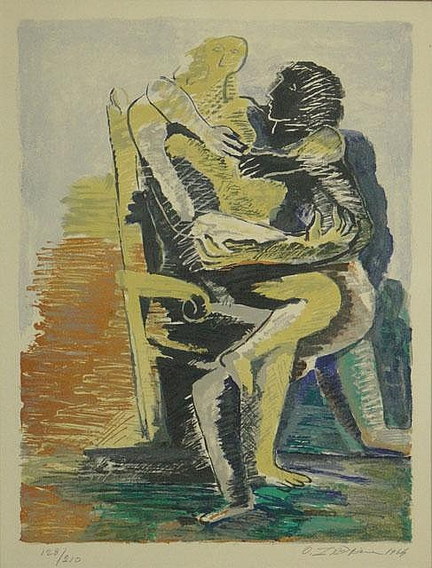 Ossip Zadkine French-Russian (1890-1967) Lithograph