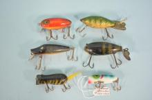 Lot Of Six Mixed Fishing Lures