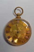 18 Kt Gold 1815 Tobias and Co Liverpool Pocket Watch
