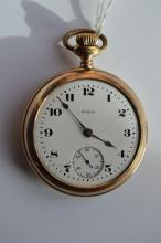 Antique Men's Elgin Open Face Pocket Watch