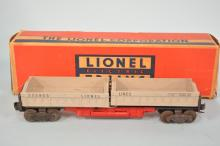 Lionel Prewar #3359-55 Lionel Lines Operating Twin Dump Car With Box