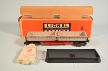 Postwar Lionel #3359 Lionel Lines Twin Coal Dump Car In Box