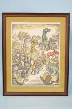 Chaim Goldberg Ltd Edition Color Lithograph
