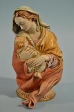 Borsato Madonna With Child Figurine
