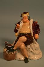 Royal Doulton Old King Cole Figurine