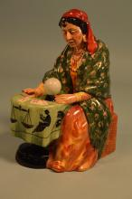 Royal Doulton Fortune Teller Figurine