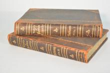 1912 The History Of Porter County Two Volume Leather Bound Book Set By Lewis Publishing Company