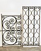 American Wrought Iron Decorative Panels