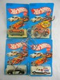 4- Early '80's Hot Wheels MOC Cars