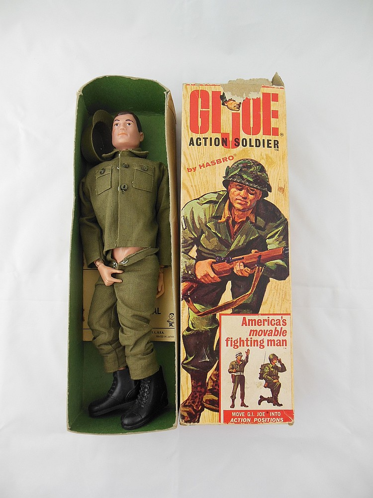 1964 GI Joe Action Soldier in Original Box
