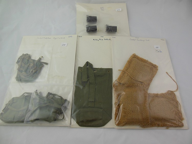 Various 1960's GI Joe Accessories