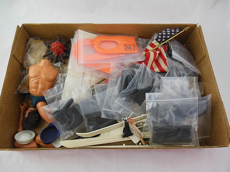 Box of Assorted Accessories and GI Parts
