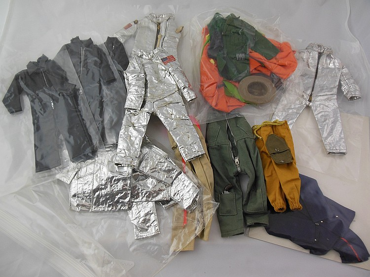 12- Assorted GI Joe Uniforms