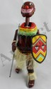 TPS Pango Pango African Dancer Wind-Up Tin Toy
