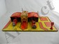 Marx Fire Department Tin Litho Set w/ Car and Truck
