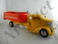 Turner Yellow and Red Dump Truck