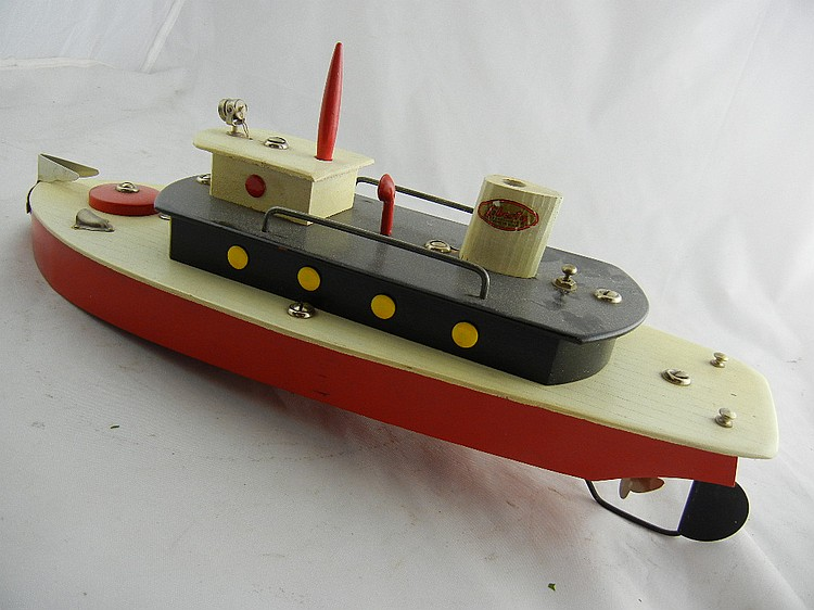 Liberty Play Things Wood Tug Boat