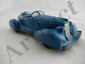Hard Rubber Blue Car, Made in USA