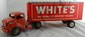Marx Tin Litho White's Truck and Trailer