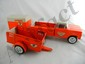 Nylint UHAUL Ford Pick-up w/ 2 Trailers
