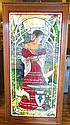 Bogenrief Spanish Dancer Leaded Glass Window