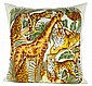 A HAUTE COUTURE SALVATORE FERRAGAMO DESIGN PILLOW