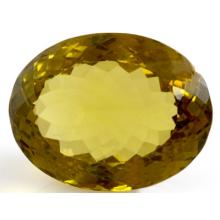 Natural Citrine Oval Cut 20x28mm 1 pc/lot 38.97 ctw