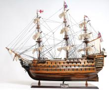 HAND MADE WOODEN HMS Victory Exclusive Edition W/COA