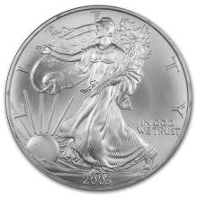 2003 1 oz Silver American Eagle (Brilliant Uncirculated)