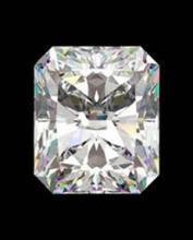 EGL CERT 0.59 CTW RADIANT CUT DIAMOND H/SI1