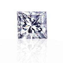 EGL CERT 0.59 CTW PRINCESS CUT DIAMOND H/VS1