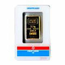 Gold Bars: 2.5 Gram Gold Bar (Manufacturer Our Choice)