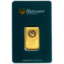 Perth Mint 20 Gram Gold Bar