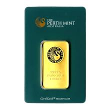 Perth Mint One Ounce Gold Bar