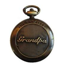 Classic Antique Brass Finish Grandpa Pocket Watch
