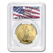 1993 1 oz Gold American Eagle MS-69 PCGS (World Trade C