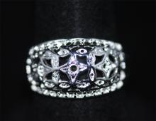 FASHION.925 STERLING SILVER RING