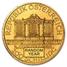 1/10 oz Gold Austrian Philharmonic - Random Year